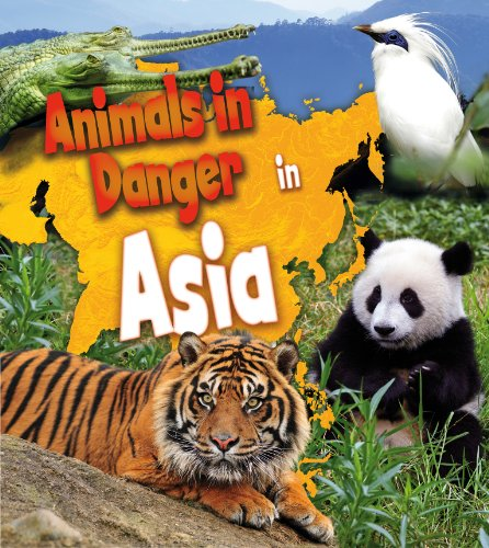 9781406262131: Animals in Danger in Asia (First Library)