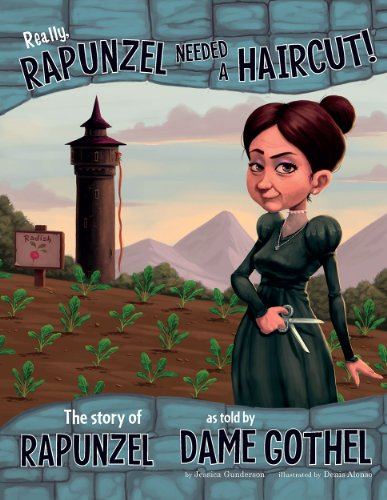 Rapunzel: The Story of Rapunzel as Told by Dame Gothel (Nonfiction Picture Books: The Other Side of...
