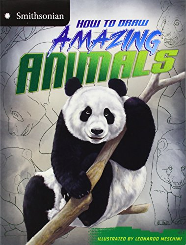 9781406280029: How to Draw Amazing Animals (Smithsonian Drawing Books)
