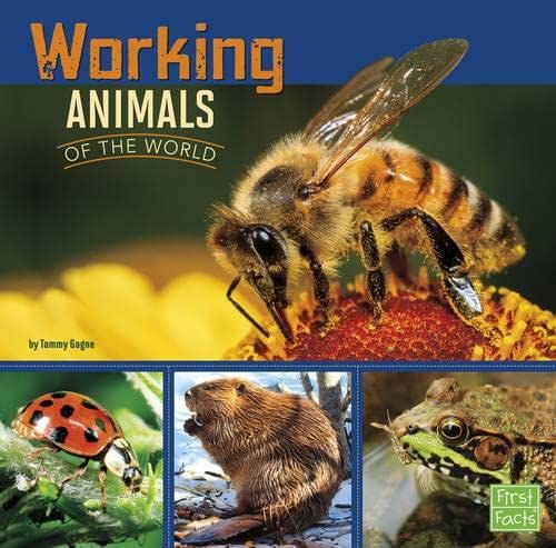 9781406293135: Working Animals of the World (First Facts: All about Animals)