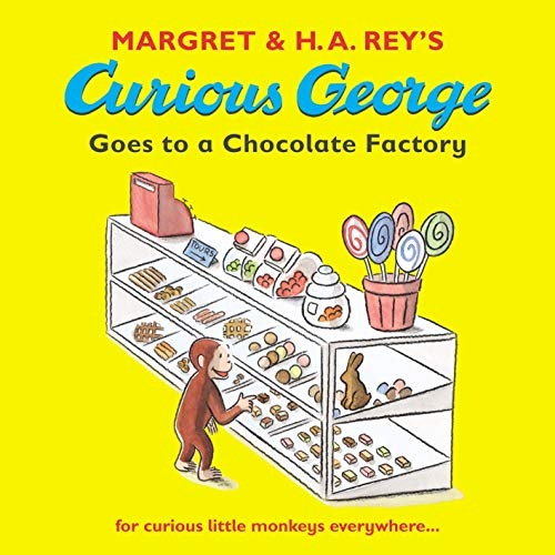 9781406300383: Curious George Goes to a Chocolate Factory