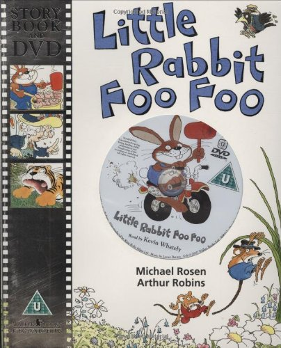 9781406308303: Little Rabbit Foo Foo with DVD (Book & DVD)