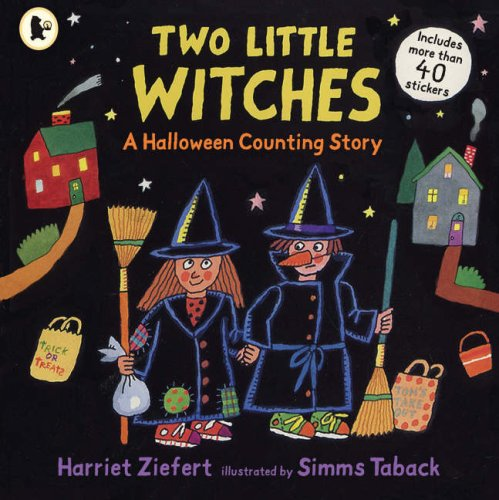 9781406309232: Two Little Witches: A Halloween Counting Story