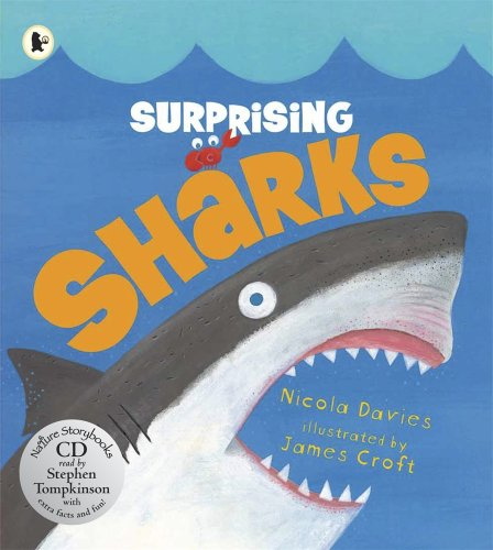 Surprising Sharks Pbk With Cd (Nature Storybooks): Nicola Davies