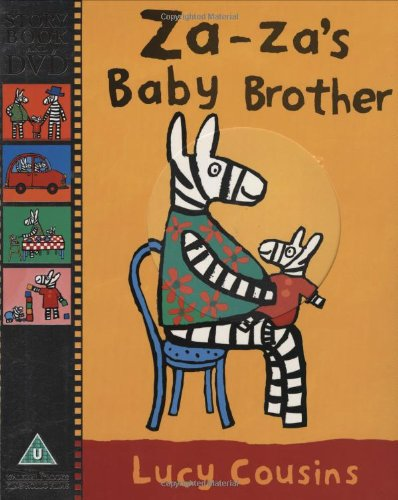 9781406314502: Za-Za's Baby Brother (Story Book & DVD)