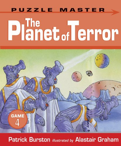 9781406317756: The Planet of Terror (Puzzle Master Game)