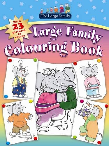 9781406320183: Large Family Colouring Book
