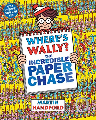 9781406323214: Where's Wally? The Incredible Paper Chase
