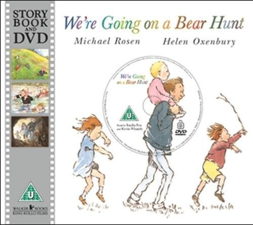9781406323924: We're Going on a Bear Hunt (Book & DVD)