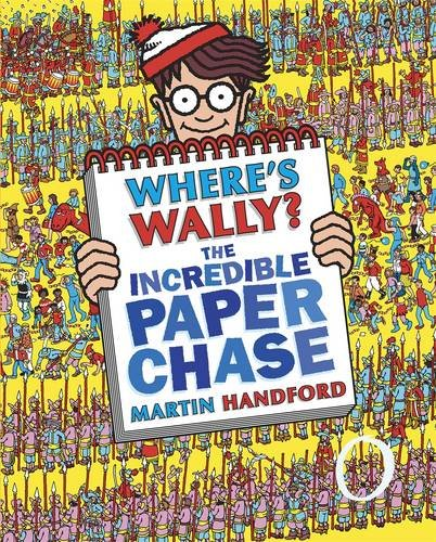 9781406324464: Where's Wally? The Incredible Paper Chas