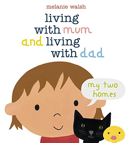 9781406334289: Living with Mum and Living with Dad: My Two Homes