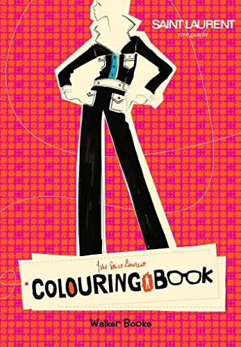 9781406338836: Yves Saint Laurent Rive Gauche Colouring Book