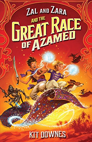 9781406340853: Zal and Zara and the Great Race of Azamed