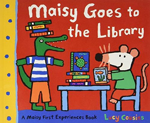9781406344585: Maisy: Maisy goes to the library