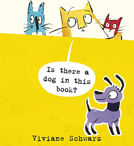 9781406345612: Is There a Dog in This Book? (Cats)