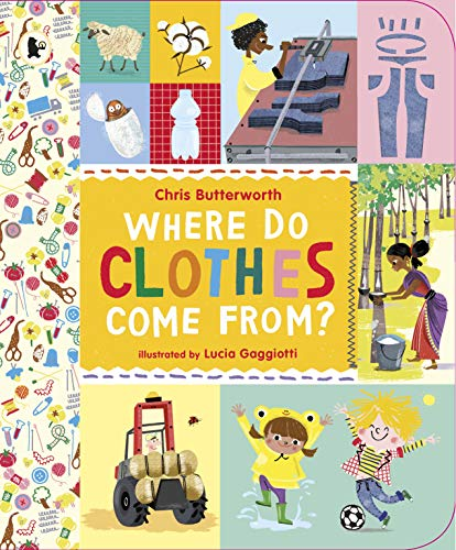 9781406347340: Where Do Clothes Come from?