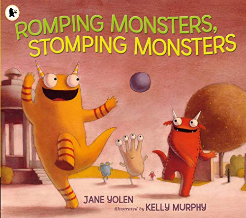 9781406355208: Romping Monsters, Stomping Monsters