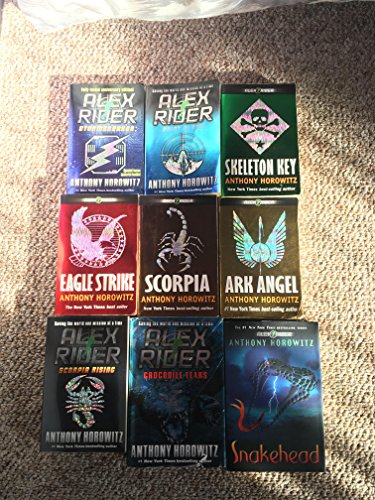 9781406358889: Alex Rider Collection Pack, 9 Books Set, (Scorpia Rising, Stormbreaker, Point Blanc, Skeleton Key, Eagle Strike, Scorpia, Ark Angel, Snakehead, Crocodile Tears) (Alex Rider - Spy Agent for Mi6 and Cia)