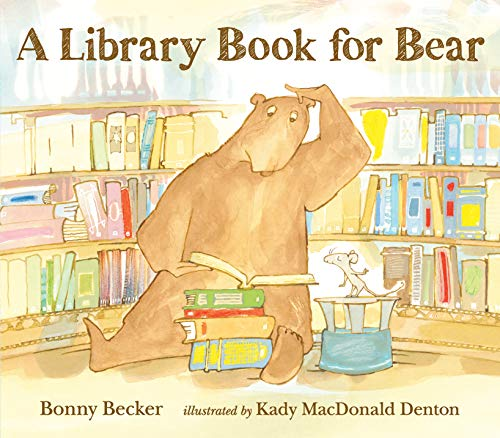 9781406360936: A Library Book for Bear