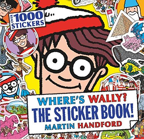 Where's Wally? The Sticker Book!: Martin Handford