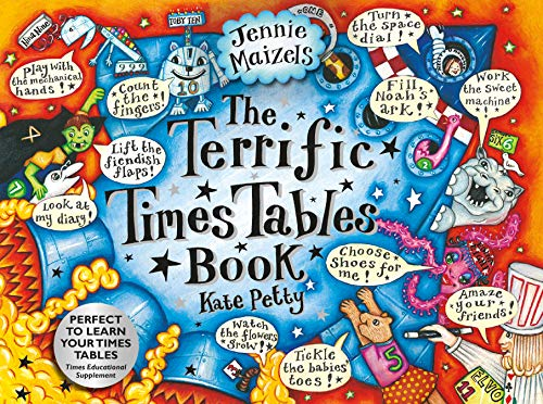 The Terrific Times Tables Book: Kate Petty, Jennie