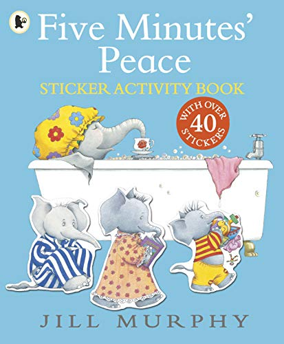 9781406370799: Five Minutes' Peace Sticker Activity Book (Large Family)