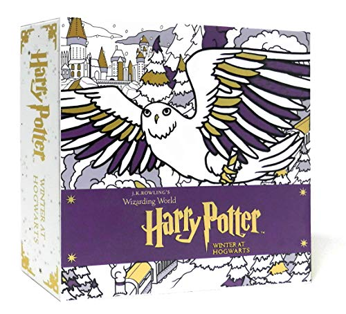 Harry Potter: Winter at Hogwarts: A Magical Colouring Set: Insight Editions