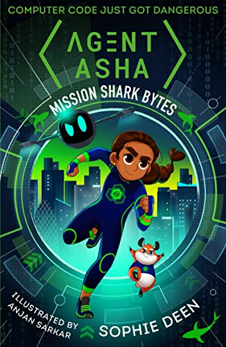 9781406382723: Agent Asha: Mission Shark Bytes (Agent Asha 1)