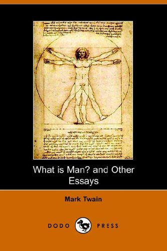 what is man and other essays mark  stock image