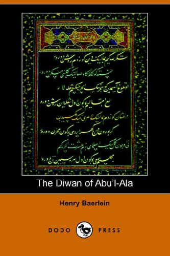 9781406504378: The Diwan of Abu'l-ALA
