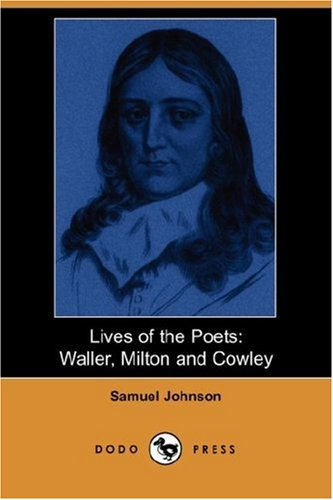 9781406535068: Lives of the Poets: Waller, Milton, and Cowley