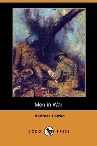 9781406535792: Men in War (Dodo Press)