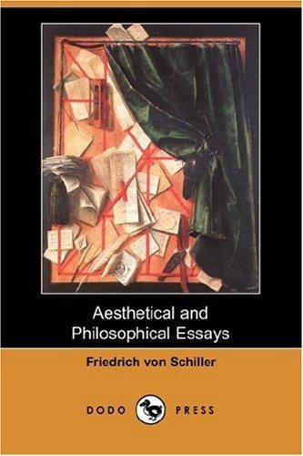 9781406538915: Aesthetical and Philosophical Essays (Dodo Press)