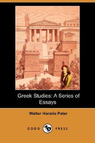 9781406541335: Greek Studies: A Series of Essays (Dodo Press)