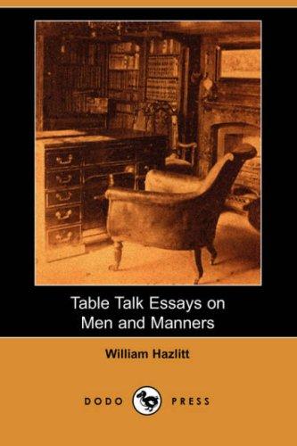 hazlitt essays