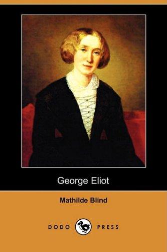 9781406545401: George Eliot (Dodo Press)