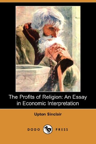 9781406553802: The Profits of Religion: An Essay in Economic Interpretation (Dodo Press)