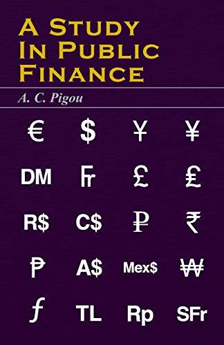9781406715965: A Study In Public Finance