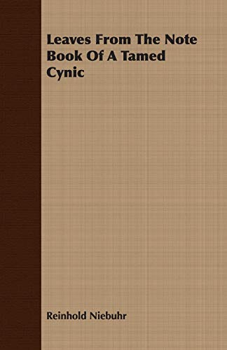 9781406728798: Leaves from the Note Book of a Tamed Cynic