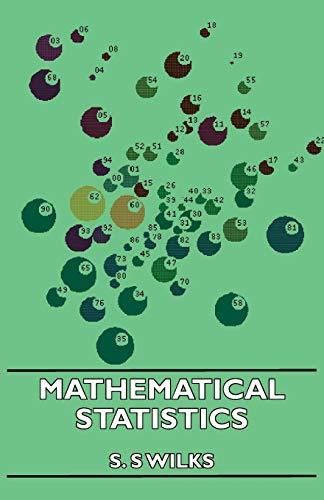 9781406734317: Mathematical Statistics