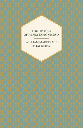 9781406791518: The History of Henry Esmond, Esq.