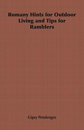 9781406798838: Romany Hints for Outdoor Living and Tips for Ramblers