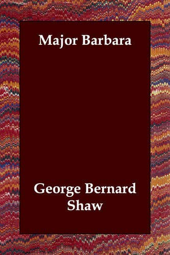 Major Barbara (140680536X) by George Bernard Shaw