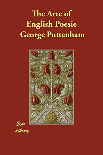 9781406824094: The Arte of English Poesie