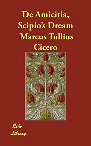 9781406846003: de Amicitia, Scipio's Dream
