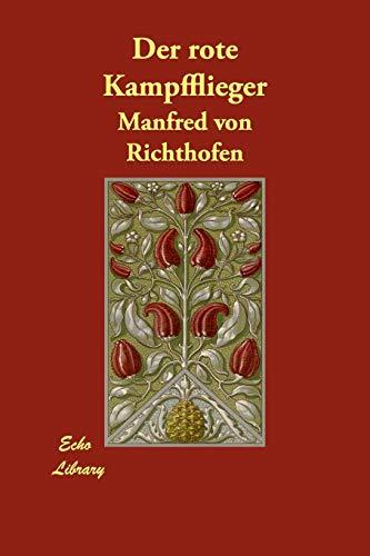 9781406873139: Der Rote Kampfflieger (German Edition)