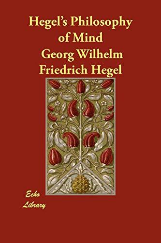 9781406878233: Hegel's Philosophy of Mind