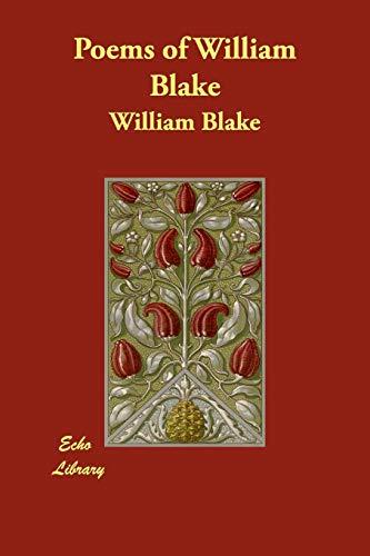 9781406880625: Poems of William Blake