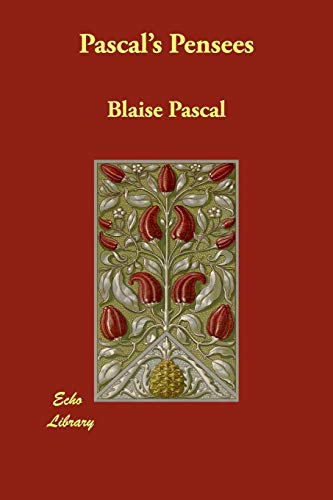 Pascal's Pensees (9781406891065) by Blaise Pascal