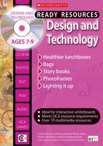 9781407100296: Design and Technology Ages 7-9 (Ready Resources)